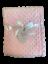 E/&A  baby blankets soft fleece bubble design baby wrap 75x95cm warm cosy blanket