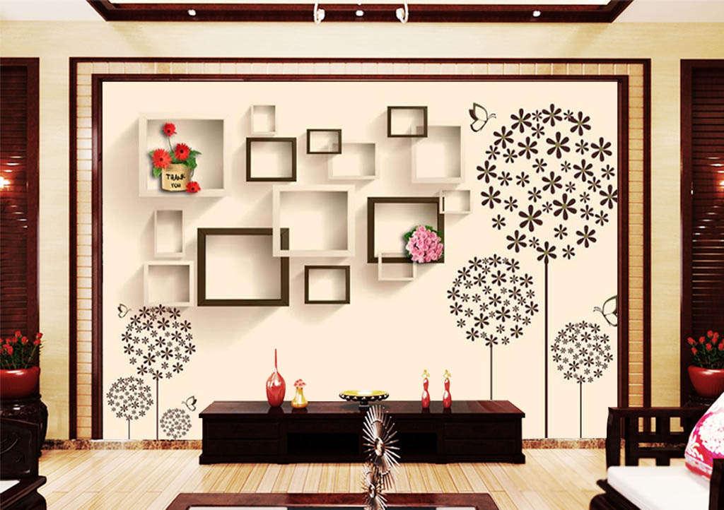Flying Dandelion 3D Full Wall Mural Photo Wallpaper Printing Home Kids Decor