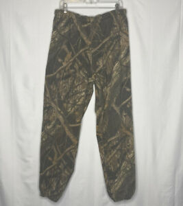 Men-s-Scent-Lok-Mossy-Oak-Elastic-Waste-Camouflage-Hunting-Pants-Size-XXL