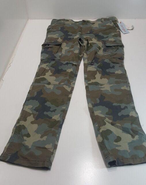0045e30996 Cat and Jack SKINNY Adjustable Waist Girls Boys Pants Size 16 Green Kids  Camo for sale online | eBay
