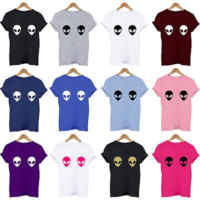 Alien Face Boobs, Boobies, Funny, Fancy Dress, Ufo, Et, Fun Blog Gift T Shirt