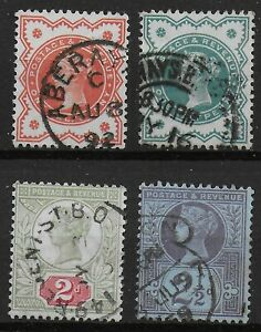 1887-Jubilee-1-2d-1887-1-2d-1900-2d-and-2-amp-1-2d-Very-Fine-Used-Ref-0976