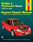 Dodge & Plymouth Neon (00 - 05) by Ken Freund (Paperback, 2006)