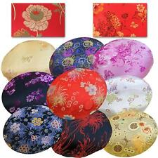 Round Shape Cover*Chinese Rayon Brocade Floor Chair Seat Cushion Case *BL20