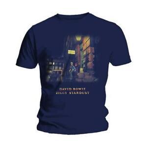 David-Bowie-Ziggy-Stardust-Official-Merchandise-T-Shirt-M-L-XL-Neu