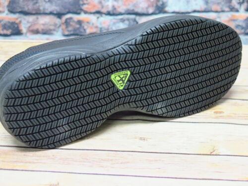 Men/'s NEW BALANCE MID627B2 Hommes Noir Cuir Acier Orteil chaussure de sécurité