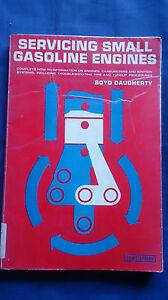 Vintage-1969-SERVICING-SMALL-GASOLINE-ENGINES-Ex-Library-Book-BOYD-DAUGHERTY
