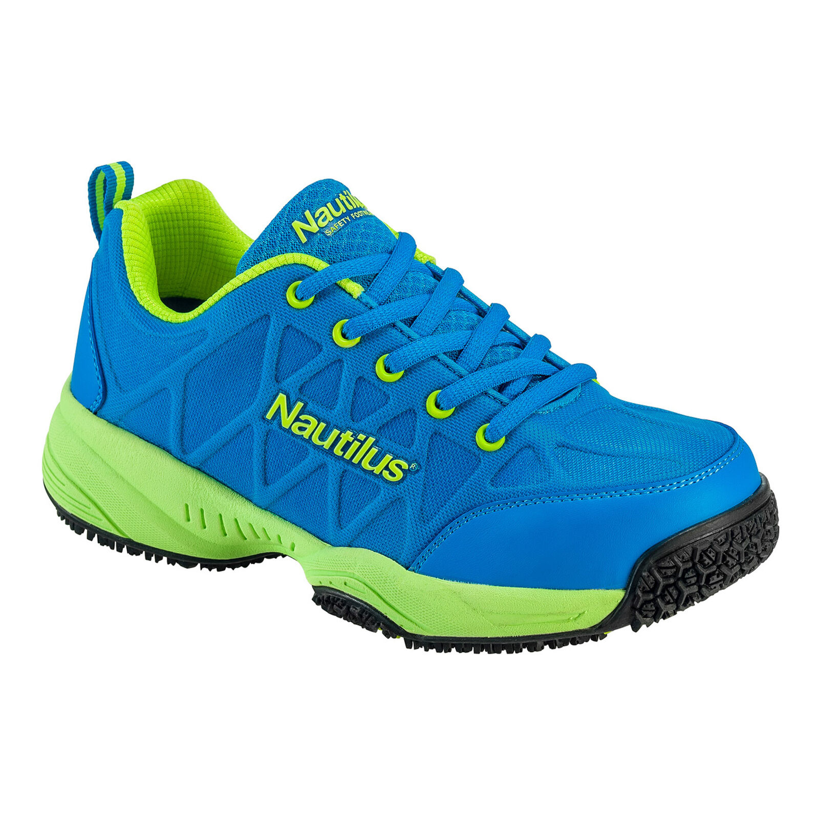 Nautilus Womens Composite Toe Athletic W bluee Action Leather shoes