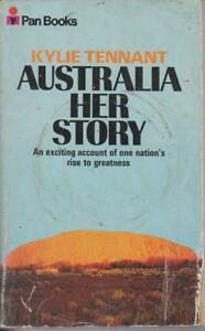 AUSTRALIAN-FICTION-paperback-AUSTRALIA-HER-STORY-by-KYLIE-TENNANT