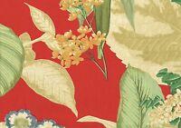 Kravet Fabric Sketchbook Red Green Gold Tan Blue  Cotton Drapery Upholstery