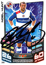 Reading F.C Noel Hunt Hand Signed 12/13 Premier League Match Attax.