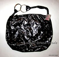 Torrid Black Studded Patent Leather Purse Bag Satchel
