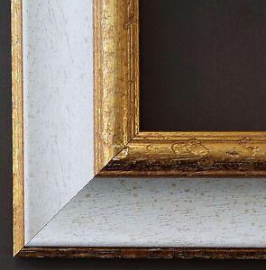 bilderrahmen wei gold antik barock foto urkunden rahmen. Black Bedroom Furniture Sets. Home Design Ideas
