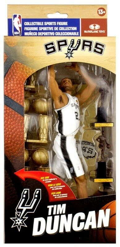 Tim Duncan Limited Edition Collector Box - NBA Action Figure Mcfarlane