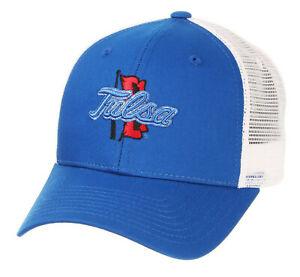 TULSA-GOLDEN-HURRICANES-NCAA-BIG-RIG-TRUCKER-2-TONE-SNAPBACK-ZEPHYR-CAP-HAT-NWT