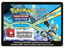 x1 Pokemon Unused Code ONLINE REWARDS Black Kyurem - C10