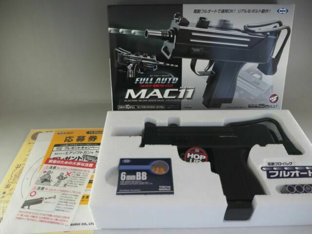 Tokyo Marui No.3 MAC11 full auto electric blow back F//S with T//N