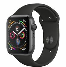 NUOVO Apple Watch Series 4 44mm Space Gray Aluminium Black Sport Band - MU6D2