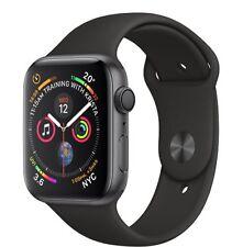 NUOVO Apple Watch Series 4 44mm Space Gray Aluminium Black Sport Band - MU6D2