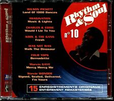 RHYTHM & SOUL N°10 - DISCO FUNK BLACK MUSIC MOTOWN - CD COMPILATION [1977]