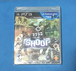 THE-SHOOT-BRAND-NEW-FACTORY-SEALED-PS3-PLAYSTATION-3-FREE-SHIPPING