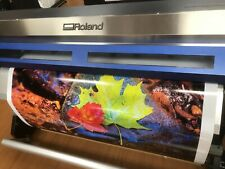 Roland Xc540 Solijet Inkjet Large Format Printer Amp Cutter Great Used Condition