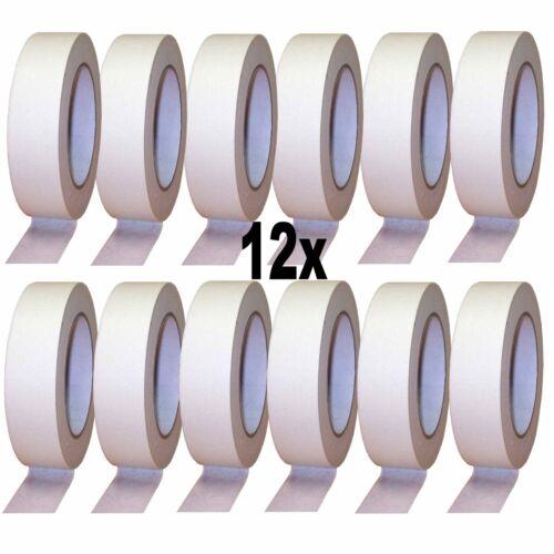 KLEBEBAND 12 Rollen  30mm x 50m Abdeckband