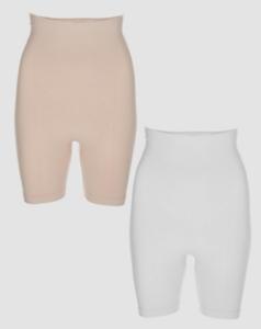 Vercella Vita Strong Control BodyFresh High Waist Brief//Shorts Pk2 Various Sizes