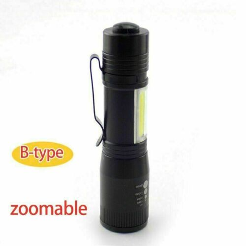 Mini flashlight Q5 penlight USB rechargeable LED COB work flash light Torch Lamp