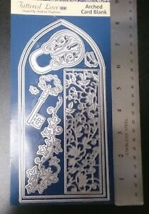 Tattered Lace Arched Card Blank Eight Piece Metal Die Set Brand New Style ETL625