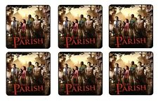 LEFT 4 DEAD COASTERS - 1/4 BAR & BEER SET OF 6