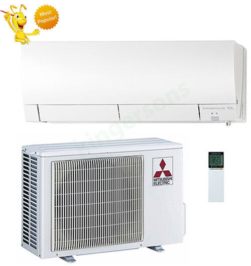 12000 BTU Mitsubishi Mr.slim Ductless Mini Split Air Conditioner Seer 26.1