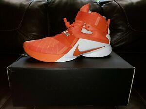 outlet store 5e0d6 dcf10 Details about Lebron James Soldier 9 Clemson Issued Edition