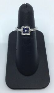 Gabriel-amp-Co-14K-White-Gold-Sapphire-and-0-20-Ct-Diamond-Halo-Ring