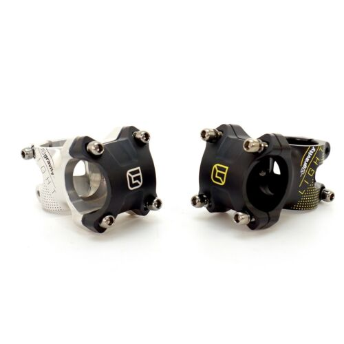 "FSA Gravity Light DH 1 1//8/"" MTB Stem CNC 6-deg rise 45//60//75//90mm Black//Silver"