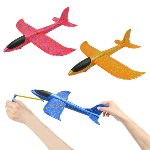3xHand Launch Throw Airplane Foam Glider Slingshot Plane Model Outdoor Toys GYAN