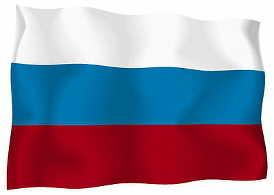 Aufkleber Auto Sticker tuning motorrad Autoaufkleber Fahne Flagge russland