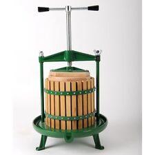 Vigo 12 litre Cross Beam apple cider pear fruit press. Very good quality  NEW!