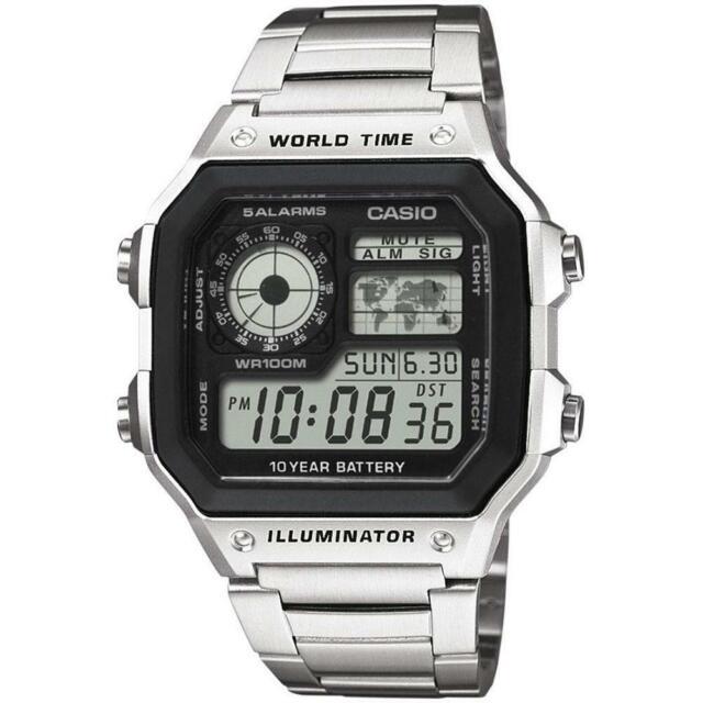 Casio Genuine AE-1200WHD-1A Digital Quartz Men's Watch Sport (Free postage)