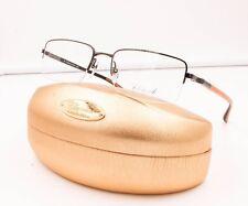Chopard VCH A07 0509 Titanium Orange Semi Rimless RX Eyeglasses NWC 56MM VCHA07