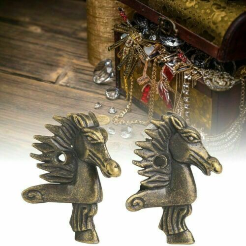 8X Horse Head Shaped Wooden Box Feet Leg Furniture Leg Corner Bracket Protector