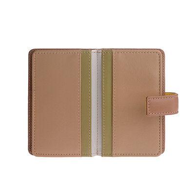 DuDu Portafoglio porta carte di credito in pelle Woods portatessere con zip