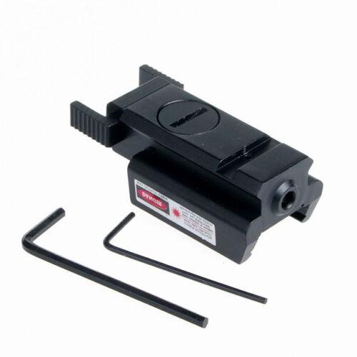 Hunting Red Laser Scopes for PISTOL Glock 17 19 20 21 22 23 30 31 32 Weaver Rail