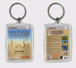 Appris Sid Meier's Civilization Commodore Amiga Llavero Keyring