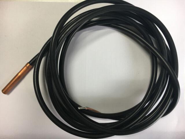 Temperaturfühler Temperatursensor Fühler Sensor KTY für Pelletkessel OPOP Biopel