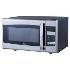 Ft 900 Watt Digital Microwave Oven Black Stainless Steel