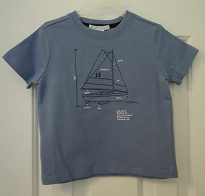 New With Tags  Janie and Jack Sailing Style Sailboat Top~ Boy/'s Size 6-12 Month