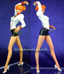 "1/6 Agent Aika: Aika Sumeragi in White Shirt 11"" Tall Unpainted Resin ModelKit"