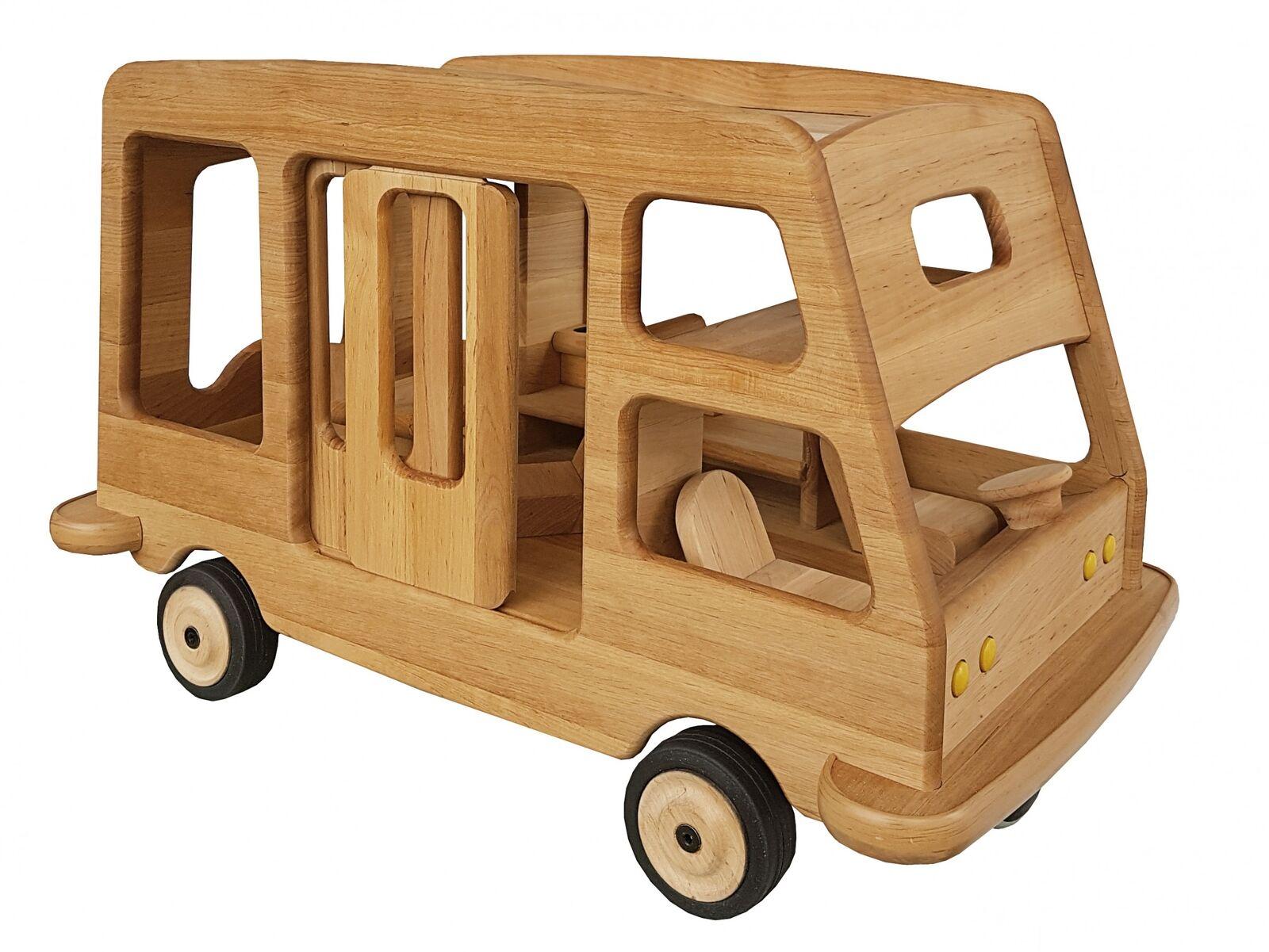 autorello da Campeggio Giocattolo in legno CAMPER ROULOTTE  Drewart Legno Massiccio 931-5000  stanno facendo attività di sconto