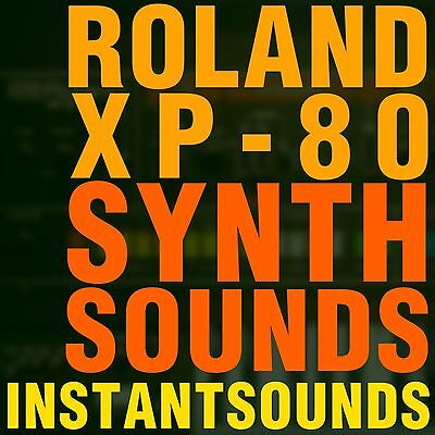 Roland JUPITER Synth SOUNDS Keyboard Sample 8 Reason NNXT Akai Akp Soundfont Wav